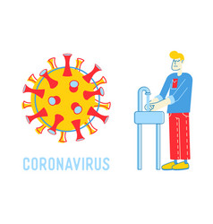 Precautionary hygienic measures for coronavirus vector