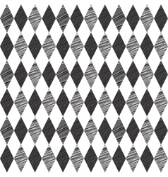 Rhombus retro background vector