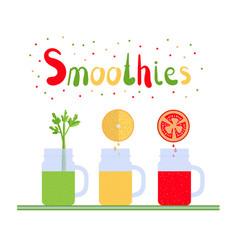 Smoothies 1 vector