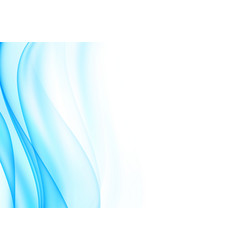 Soft abstract wavy background vector