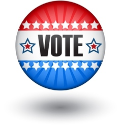 USA vote sign vector image