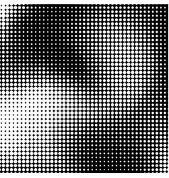 White halftone background vector