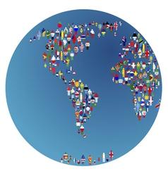 globalisation vector image vector image