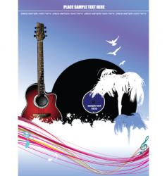 music cover vector image vector image