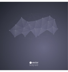 abstract background with transparent mesh vector image