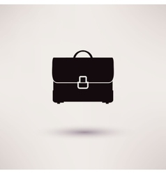 Briefcase Icon in the flat style vector