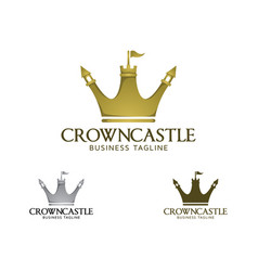 crown castle logo vector image