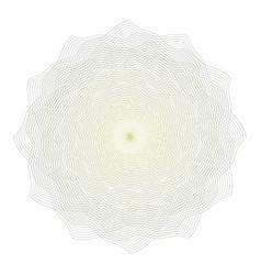 Guilloche rosette decorative rosette vector