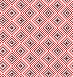 Red square seamless pattern background vector