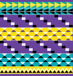 Tribal african seamless pattern vector
