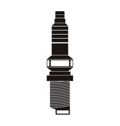 car spark plug vector image
