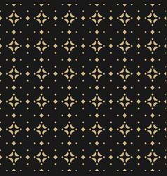 gold and black background seamless pattern vector image