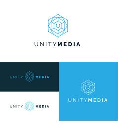 network logos set 2 vector image
