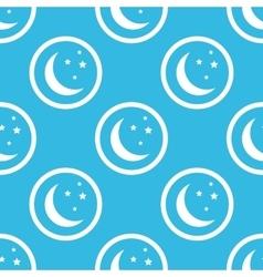 Night sign blue pattern vector