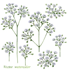 Small flowers vector