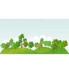 Summer Forest vector