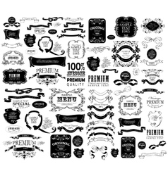 Set of hand drawing vector image vector image