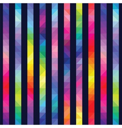 strips from color triangles against a dark vector image