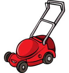 Lawn Mower vector image