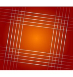 Abstract colored stripes square on orange backgrou vector