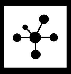 Electron icon vector