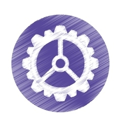gear cog wheel vector image