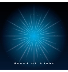 Speed of light vector