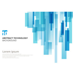 abstract technology vertical overlapped geometric vector image