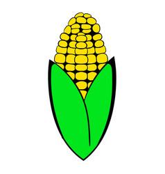 corncob icon cartoon vector image vector image