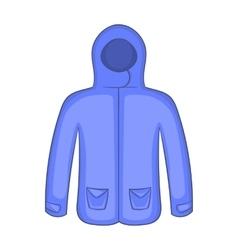 Hoodie sweater icon cartoon style vector image vector image