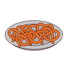 Bakery food cartoon vector