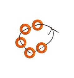 Bread Rings Sheaf On The String vector