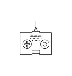 drone controller icon vector image