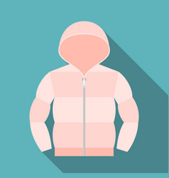 duvet coat vector image