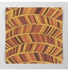 Striped wave brown Pattern vector