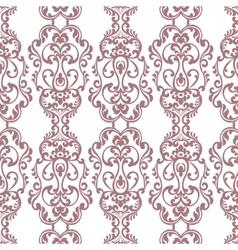 Vintage Damask Elegant Royal ornament pattern vector