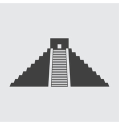 Chichen Itza icon vector image