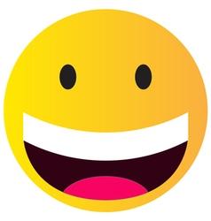 happy smile vector image vector image