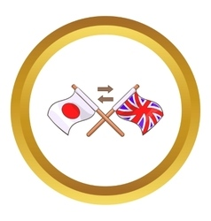 Translation to english icon vector image vector image