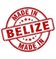 Made in belize vector