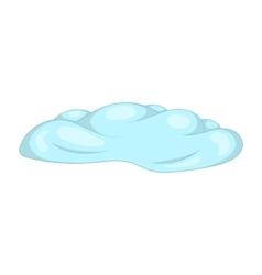 Cloud icon cartoon style vector image