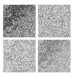 gray square pixel mosaic vector image