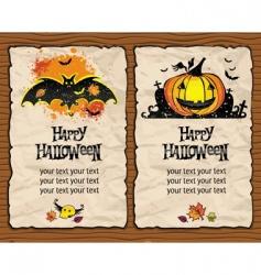 halloween textured backgrounds vector image