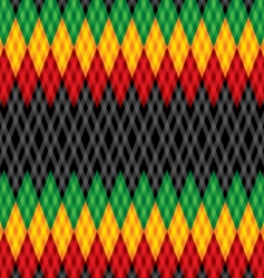 pattern rastafarian vector image