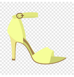 woman sandal icon flat style vector image
