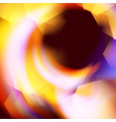 Abstract flame fire background vector image