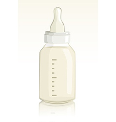 Baby Feeding Bottle vector