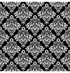 Damask wallpaper background vector image