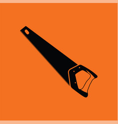 hand saw icon vector image