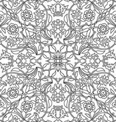 ornament paisley arabesque floral pattern tile vector image